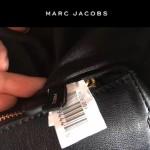 MARC JACOBS-032-2 新款潮流里外全皮女士單肩斜背包經典黑色
