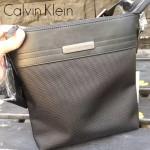Calvin Klein-007 經典百搭防水粗紋雙股尼龍面料單肩斜挎包