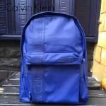 Calvin Klein-0022 經典男女款寶藍色防水面料雙肩包背包