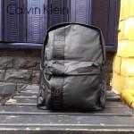 Calvin Klein-0022-2 經典男女款黑色防水面料雙肩包背包