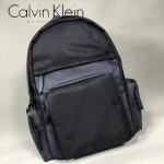 Calvin Klein-0047 人氣熱銷特殊防水拼色尼龍面料雙肩包書包