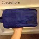 Calvin Klein-0036-2 輕便實用寶藍色防水面料大容量收納包洗漱包
