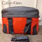 Calvin Klein-0037-2 專櫃經典款防水面料手提單肩包旅行袋