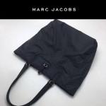 MARC JACOBS-034 正品新款購物袋帆布配十字紋牛皮超輕購物袋