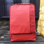 Calvin Klein-0021 商務系列紅色防水面料雙肩包背包
