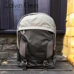 Calvin Klein-0025 旅行必備黑拼灰防水面料雙肩包書包