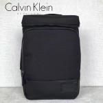 Calvin Klein-0042 專櫃男士新款黑色尼龍面料大容量雙肩包書包