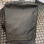 Calvin Klein-0026 商務男士雙拉鏈黑色防水面料雙肩包書包