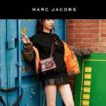 Marc Jacobs-06-2 范瑋琪同款蛇形金屬扣棗紅色牛皮大號單肩斜挎包