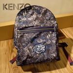 KENZO-004 個性塗鴉男女款原單眼鏡防水尼龍面料雙肩包書包