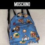 Moschino-041-2 莫斯奇諾客供尼龍印花款女士休閒雙肩包