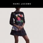 Marc Jacobs-09 專櫃新款女士藍色蛇紋配青蛙亮片單肩斜挎包相機包