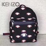 KENZO-005 時尚休閒男女款原單眼睛防水尼龍面料雙肩包書包