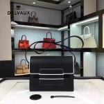 Delvaux-028 Madame系列包包可調節肩帶可斜挎單肩實用百搭,box小牛皮單肩斜挎包