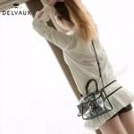 Delvaux-08 專櫃限量版brilliant X-ray原單透明果凍包手提單肩包
