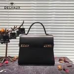 Delvaux-034-4 全新TP系列swift小牛皮配粗肩背手提單肩包