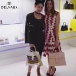 Delvaux-06-3 春夏專櫃定制款Brillant 彩虹系列白色原版鱷魚紋手提單肩包