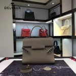 Delvaux-034 全新TP系列swift小牛皮配粗肩背手提單肩包