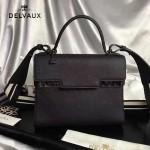 Delvaux-033-3 全新牛頸紋TP系列配粗肩背手提單肩包