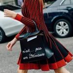 Delvaux-016 唐嫣蕾哈娜同款限量版Le Brillant原單字母塗鴉大號手袋