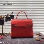 Delvaux-034-3 全新TP系列swift小牛皮配粗肩背手提單肩包