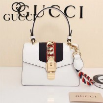 GUCCI-470270-3 Mini原版小牛皮時尚新款女士手提斜背包