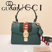 GUCCI-470270-5 Mini原版小牛皮時尚新款女士手提斜背包