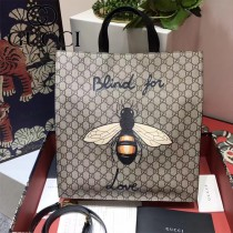 GUCCI-2020-2 Blind for Love(執迷于愛)新款印花男女通用手提包購物袋