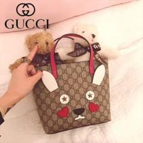 GUCCI-2023 新款可愛小貓系列購物袋