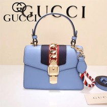 GUCCI-470270-4 Mini原版小牛皮時尚新款女士手提斜背包