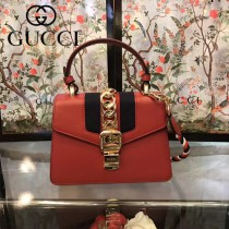 GUCCI-470270-2 Mini原版小牛皮時尚新款女士手提斜背包