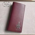 PRADA 2M0836-04 精英必備男士公仔系列紅色原版十字紋長款西裝夾
