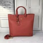 Prada-BN1713 進口時尚簡約原裝防鹿牛皮超大容量購物包