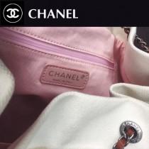 CHANEL-005 新款手工穿珠片時尚潮流水桶型雙肩包