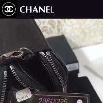 CHANEL-006-2 最新款雙拉鏈內置八個卡位時尚潮流小包