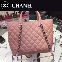 CHANEL-98560-2 新款時尚潮流簡單原版牛皮手提肩背包