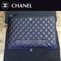 CHANEL-82388 黑色簡單輕便胎牛皮時尚手包