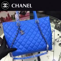 CHANEL-98560-3 新款時尚潮流簡單原版牛皮手提肩背包