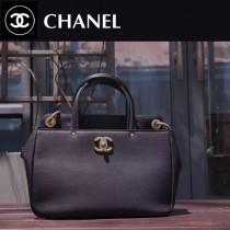 CHANEL-012-5進口原版牛皮亞光五金女士夏季手提斜挎包