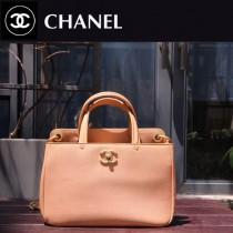 CHANEL-012-2進口原版牛皮亞光五金女士夏季手提斜挎包