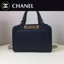 CHANEL-019-2 冬款新款簡單時尚小型購物袋