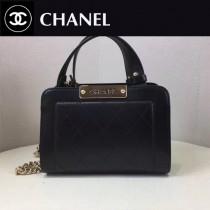 CHANEL-019 冬款新款簡單時尚小型購物袋