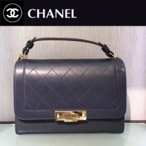 CHANEL-029-2 特製口蓋包精選搭配以手提帶五金logo官方網同款手提包