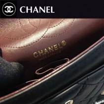 CHANEL-032 限量款徽章包超限量lucky charm徽章小號舊金鏈條單肩斜挎包