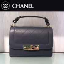 CHANEL-030 特製口蓋包精選搭配以手提帶五金logo官方網同款手提包