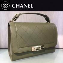 CHANEL-029 特製口蓋包精選搭配以手提帶五金logo官方網同款手提包