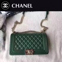 CHANEL-040-2 最新巴黎代購款頂級原單品質頂級小牛皮細球紋顆粒淺金電鍍五金單肩斜挎包