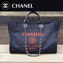 CHANEL-051 春夏迪拜度假系列帶手柄經典大號購物袋