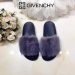 Givenchy鞋子-001-5 美國名媛卡戴珊同款意大利進口水貂毛平底拖鞋