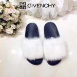 Givenchy鞋子-001-4 美國名媛卡戴珊同款意大利進口水貂毛平底拖鞋